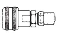 # FMSD11-4 - 3/8 in. One Way Shut-Off - Reusable Hose Clamp - Automatic - Socket - 3/8 in. x 3/4 in.