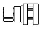 # SHD3003S/S - SHD3 Series 1/4 in. - Female Thread - Automatic Socket - 303 Stainless Steel - 1/4 in.