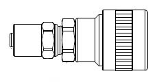 # SHDSD133 - SHD3 Series 1/4 in. - Reusable Hose Clamp - Automatic Socket - Brass - 3/8 in. x 13/16 in.
