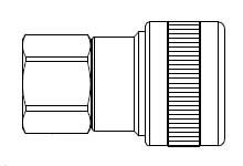 # SHD4015 - SHD5 Series 1/2 in. - Female Thread - Automatic Socket - 1/4 in.