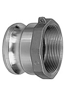 # AL-A100 - Female Adapter - Type A - Aluminum - 1 in.
