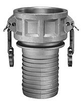 # AL-C050 - Shank Coupler - Type C - Aluminum - 1/2 in.