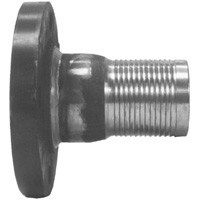 # DIXFST100 - Flanged King Combination Nipples - Steel - 10 in.