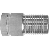 # DIXSTV50 - King Combination Nipples Grooved End - Unplated Steel - 5 in.