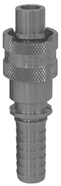 # DIXQM2 - Dix-Lock Quick Acting Couplings - Male Head x Hose End - Plated Steel - 3/8 in.
