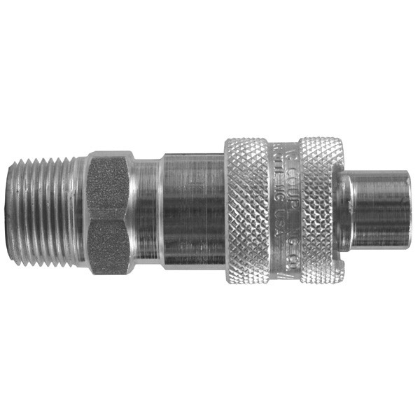 # DIXQB43 - Dix-Lock Quick Acting Couplings - Male Head x Male NPT End - Brass - 3/4 in.