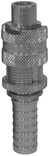 # DIXQM33 - Dix-Lock Quick Acting Couplings - Male Locking Head x Hose Shank - Plated Steel - 1/2 in.