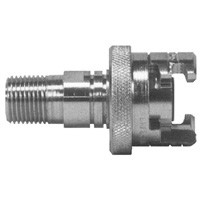 # DIXPML12FS - Male Pipe Thread with Knurled Flanged Sleeve - 3/4 in.