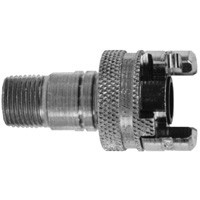 Male Pipe Thread with Locking Sleeve