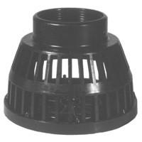 # DIXTSS25 - Polyethylene Strainer - Black Polyethylene - NPT Size: 2 in.