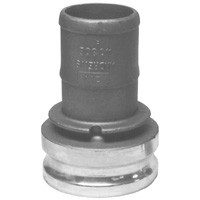 # DIX2015-E-SS - Reducing Adapter x Hose Shank - Stainless Steel - 2 in. x 1-1/2 in.