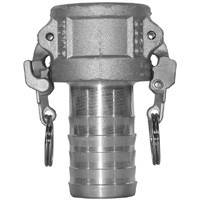 # DIXBC300EZ - Safety Shank Coupler - Type C - Brass - 3 in.
