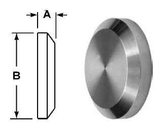 # SAN16AI-15I250 - Female I-Line Solid End Caps - 2-1/2 in.