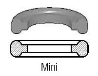 # SAN42MP-U50 - Buna-N Clamp Gasket - Black - 1/2 in.