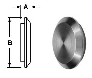 # SAN16AI-14I150 - Male I-Line Solid End Caps - 1-1/2 in.