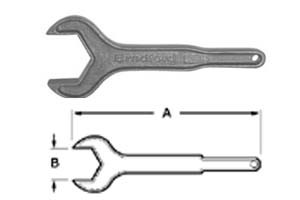 # SAN25H-400 - Single Sided Aluminum Hex Wrenches - Aluminum - 4 in.