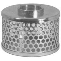# DIXRHS40 - Standard Strainer - Round Hole Type - Zinc Plated Steel - NPSH Size: 4 in.