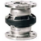 Mann Tek Safety Break-away Coupling Marine 150# Flange, 8316 Stainless Steel, FKM (FPM) seal