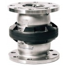 Mann Tek Safety Break-away Coupling Industrial 150# Flange, 6316 Stainless Steel, FKM (FPM) seal