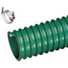 Kuriyma - W Heavy Duty PVC Multi-Purpose Suction Hose  1-1/2 in. X 100 ft. OD 1.85 in.