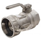 Bayloc™ Dry Disconnect Coupler x Female NPT, Aluminum, Buna seal