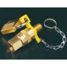 LO500 - Three Way Lockout - 1/2 NPT