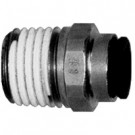 # DIX31756011 - Male Connector (Tube to Male NPT) - Tube O.D.: 3/8 in. - Male NPT: 1/8 in.